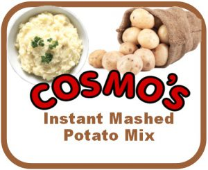 Cosmo's Potato Mash Label