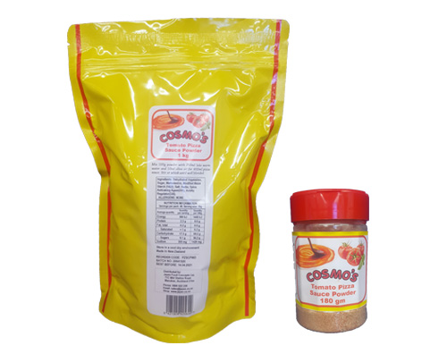 Cosmo's Pizza Sauce Powder Products