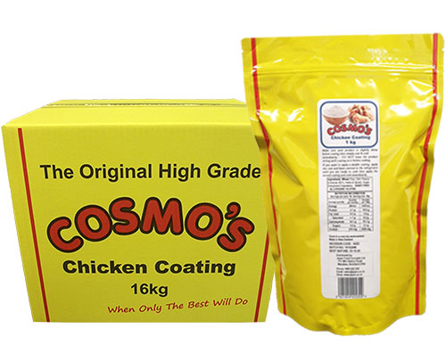 Cosmo's Chicken Coating Products