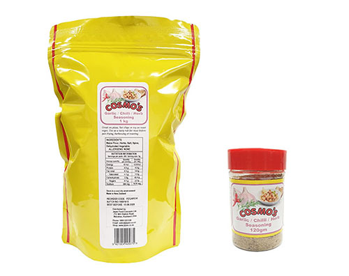 Cosmo's Garlic Chilli Herb Products
