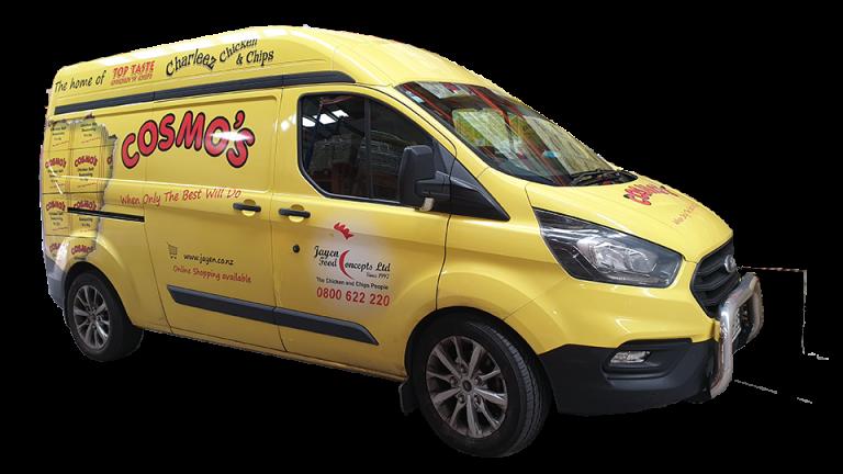Cosmo's Van
