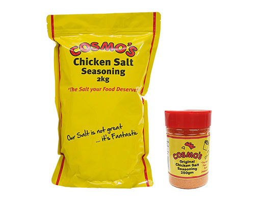 Cosmo's Original Chicken Salt Products