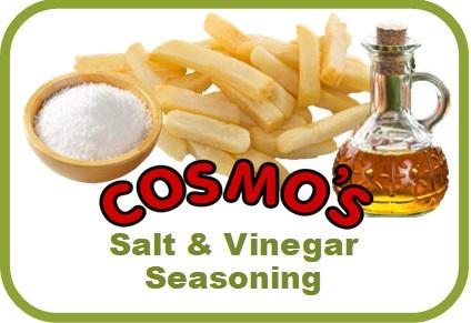 Cosmo's Salt & Vinegar Label