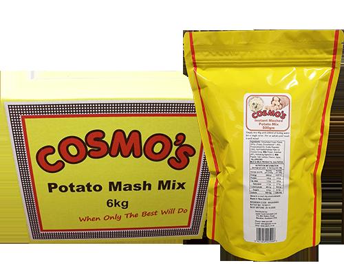 Cosmo's Potato Mash Products