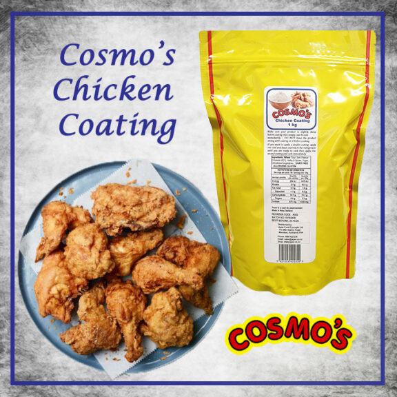 Cosmo's Chicken Coating