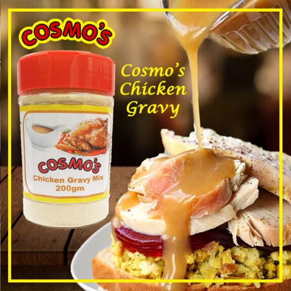 Cosmo's Chicken Gravy Shaker