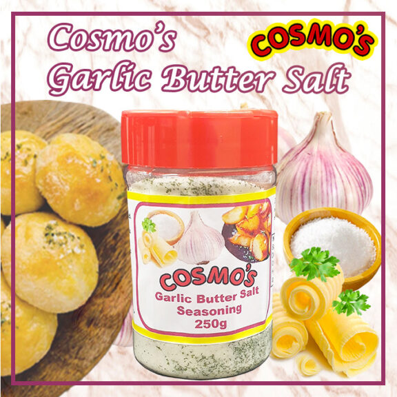 Cosmo's Garlic butter salt 250g shaker