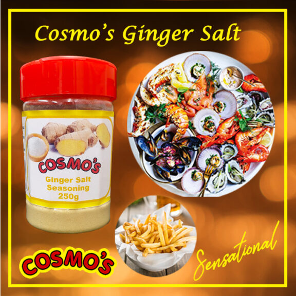 Cosmo's Ginger Salt Shaker