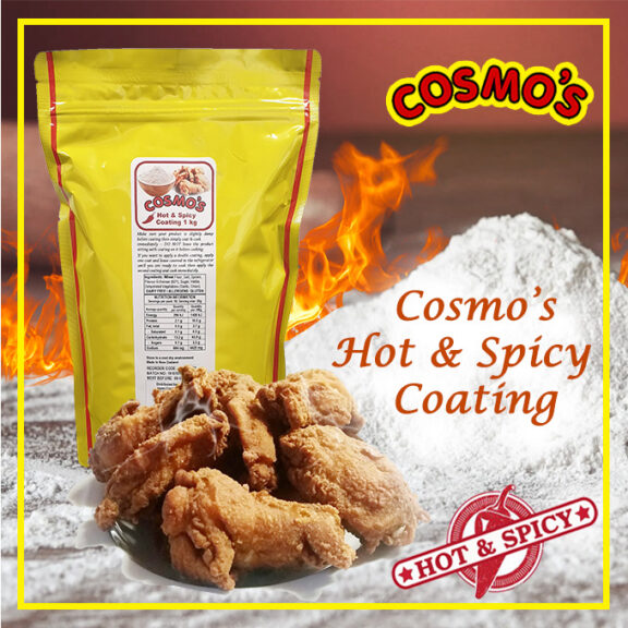 Cosmo's Hot & Spicy Coating 1kg