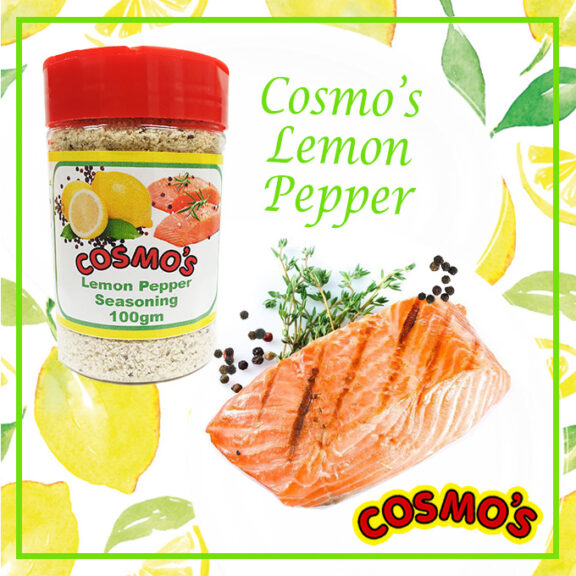 Cosmo's Lemon Pepper Shaker